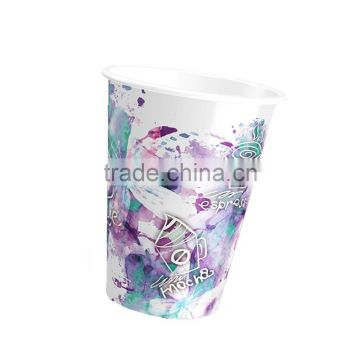 Cartoon Christmas Funny Juice Milk Cold Drinking paper juice cup