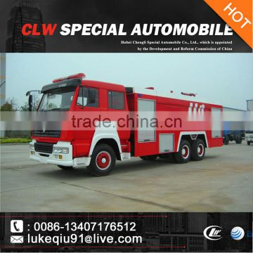 china brand new hot selling fire-extinguishing water tanker for sales