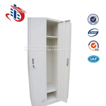 High quality godrej almirah design 3 door steel wardrobe