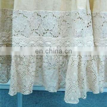 Living room curtain lace