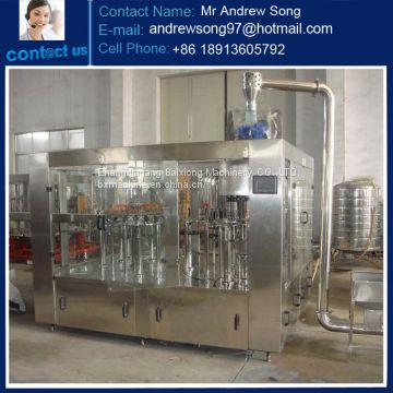 China supplier automatic bottle juice filling and sealing machine