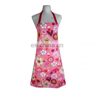 2017 Personalized fashion cute little girl print aprons