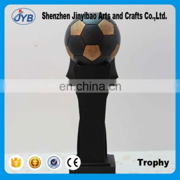 New arrival Gold Football Trophy For Competition Prizes