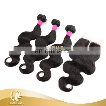 New Arrival Human Hair 4X4 Slavic Lace Front Closure Natural Part Hair Closures