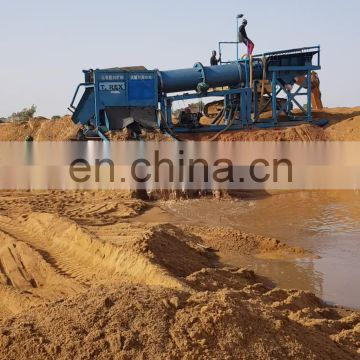 China Supplier Small Scale Gold Mining Machines Clay Gold Washing Plant