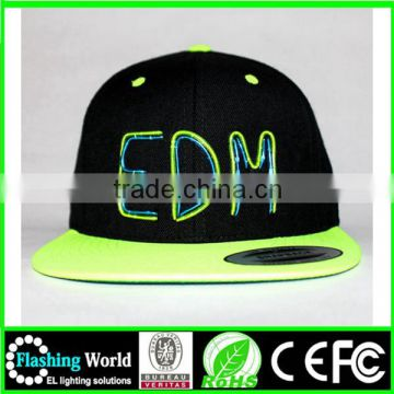 elegant and graceful numerous in variety baseball cap with led light