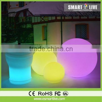 LED modern furniture cube chair led plastic light cooler rubik cube garden led ball light