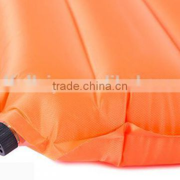 outdoor travelling self inflatabe air camping mat