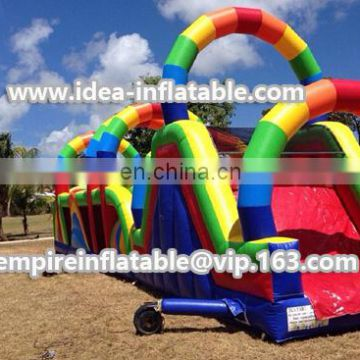 Amazing inflatable obstacle course for kids and adults ID-OB022