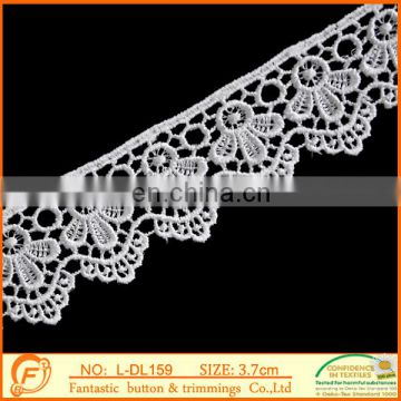 fancy floral embroidery african net lace