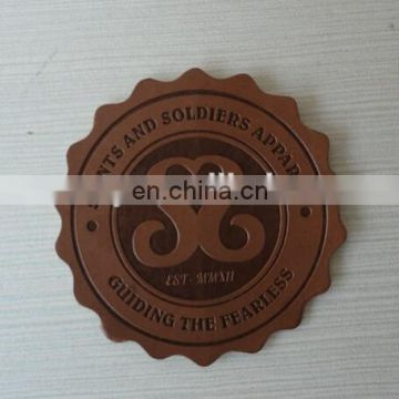 PU Leather Logo Tag for Handbags