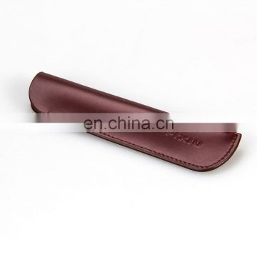 Top Quality New Design Leather Pen and Pencil Case Cheap Pen Case