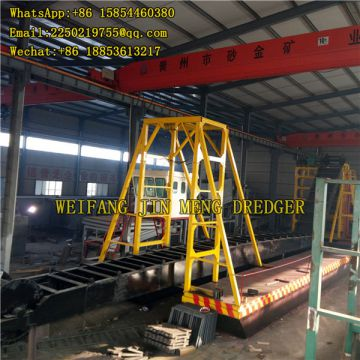 200 Cubic Meters Gold Bucket Dredge Easy To Install Bucket Chain Gold Dredger