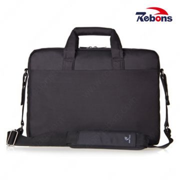 Custom Black Nylon Men Business Portfolio Computer Laptop Bags