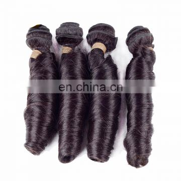 Guangzhou Best Quality Charming Peruvian Virgin Spring Curly Hair Weaving