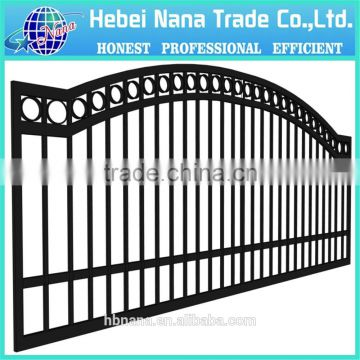 Powder Coating Iron Square Tube Gate Designs Hot Sale For Usa Of