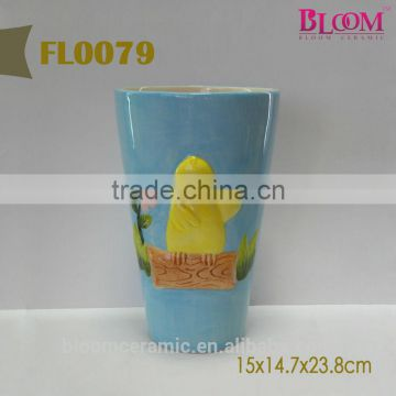 Small ceramic flower pots new design