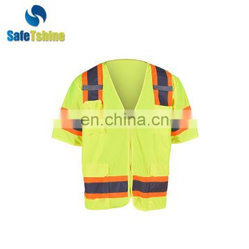 High visibility new design cheap ANSI safety vest