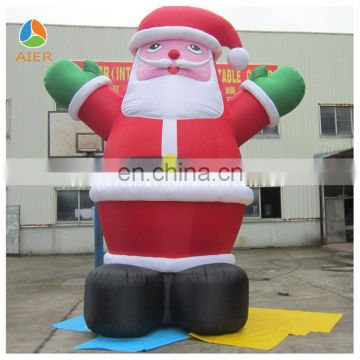 2014 Big Christmas Inflatable Santa Claus/Christmas decoraction