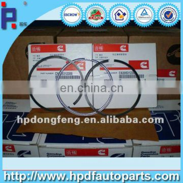 Dongfeng truck spare parts 4BT 3.3 piston ring 6204312170 for 4BT diesel engine