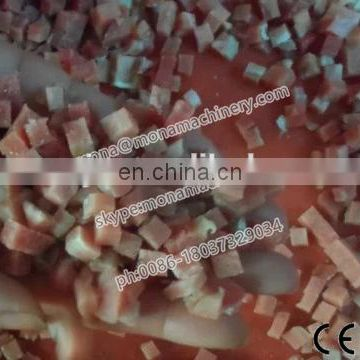 Automatic cube meat dicing machine/frozen pork meat dicer