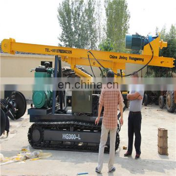 Ground Spiral Mini Electric Pile Driver with CE And ISO