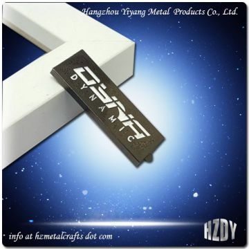 Personalized Stamped Metal Name Plates