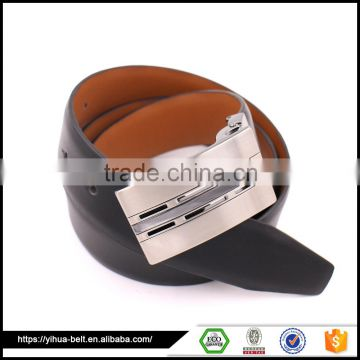 factory classical customized man leather belt with metal belt                                                                                                         Supplier's Choice