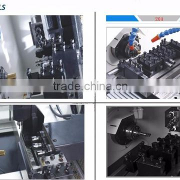 5-axis BS205 vertical Gang Type CNC Lathe