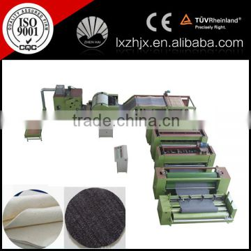ZCM-1000 geotextile production line, nonwoven needle felt machine