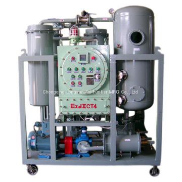 High Efficiency Turbine Vacuum Oil Filtration and Dehydration System 3000 Liters/Hr