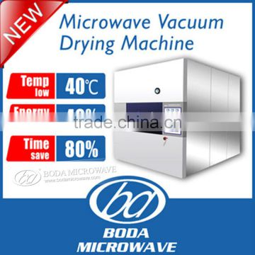 Top quality microwave vacuum pill/herb/ dryer stainless steel drying machine