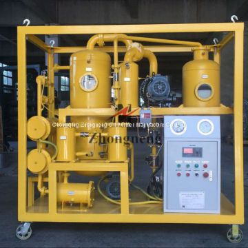 Zhongneng Profitable ZYD Series Transformer Oil Filtration Plant