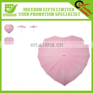 Beautiful Heart Shape Umbrella