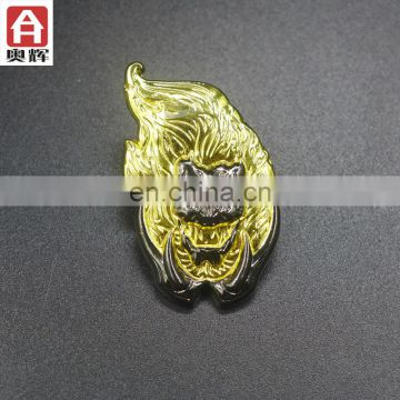 Good quality antique gold sport medallion led badge