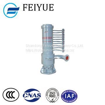Hydraulic oil multipath compressed air rotary joint converter trunnion rotary union