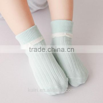 Professional 100% cotton Cute Baby Toddler Kids Girls Boys Lace Mesh Thin Soft Cotton Ankle Socks