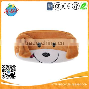 Popular Cute Animal Large Capacity Plush Pencil Case