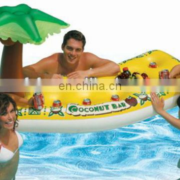 inflatabe Coconut Pool Bar