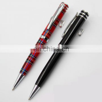 stainless steel shiny luxury gift promotion metal ball pen