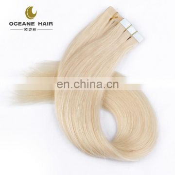 Factory price wholesale 100% european hair tape hair extension