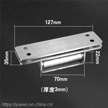 304 stainless steel invisible hinge folding hidden cross - hinged wooden door cloakroom universal manufacturer