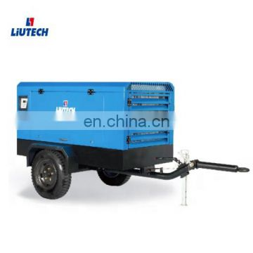 Portable industrial screw electric 110kw air compressor with high quality