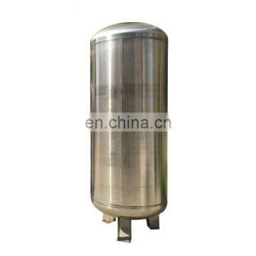 Stainless steel air receiver compressor air tank