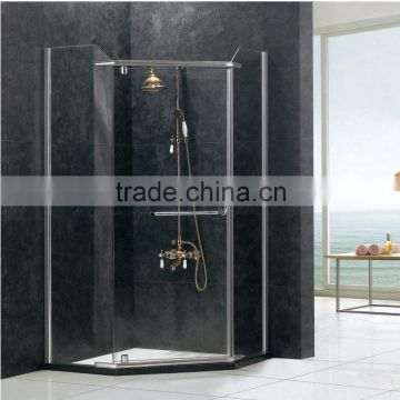 Frameless Fashionale Tempered Glass Customized Shower Room