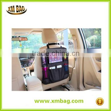 Car Back Seat Organizer with Tablet Holder - Touch Screen Pocke Multipurpose Use as Auto Seat Back Protector, Kick Mat                                                                         Quality Choice