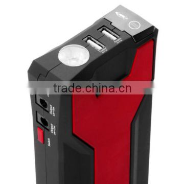 2015 Dual USB powerful 18000mah car jump starter charger for car Diesel and Charges smartphones, tablets, cameras and laptops