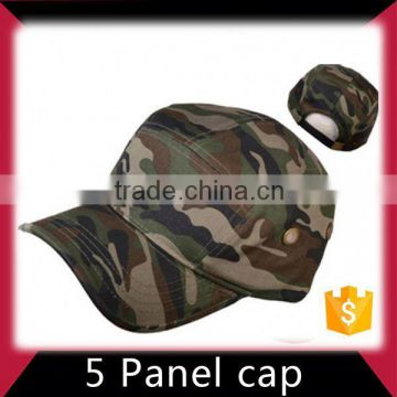 High quality guaranteed eco-friendly 5 panel hat with 3d badge