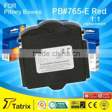 765-E Red compatible post postage meter printer cartridges for pitney bowes DM200 DM300 with 16 year experiences .