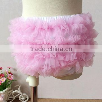 Summer Soft Baby Ruffle Cute Chiffon Girls Bloomer Cotton Baby Girls Diaper Cover Cheap Underwear
